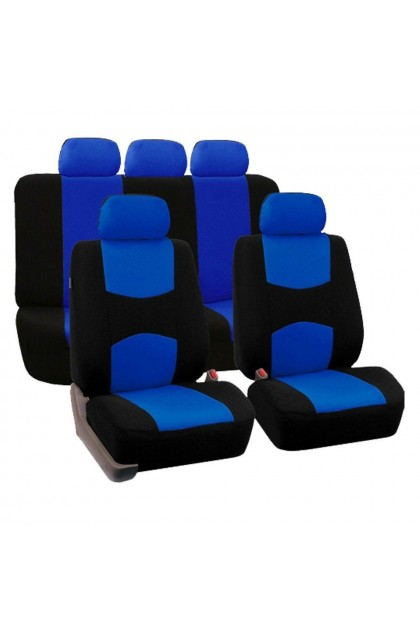 Car Seat Cover 9pcs Set Full Seat Covers Front Rear - DT690