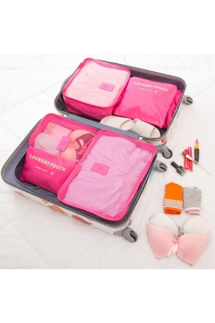 6 in 1 Cube Travel Organizer Bag - DT691