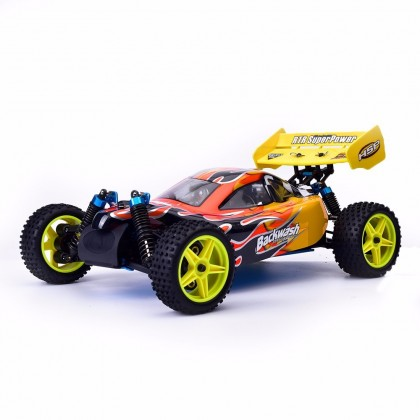 Hsp Racing 94166 Backwash 1 10 4wd Nitro Power Buggy Rc Car Rtr