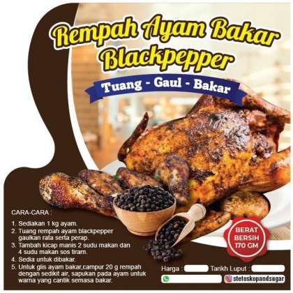 REMPAH AYAM BLACKPEPPER (170gm)-DT749