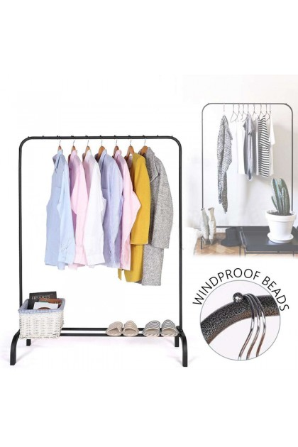 Single Pole Strong Steel Structure Laundry Rack Cloth Organizer Cloth Hanger 3kg-DT758