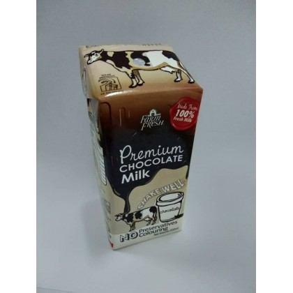 Limited Edition Susu Farm Fresh Coklat Straw ( 1 Carton) -DT768