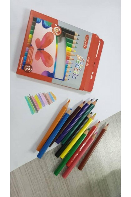 VNeeds 12pcs Coloured Pencil-DT680PROMO