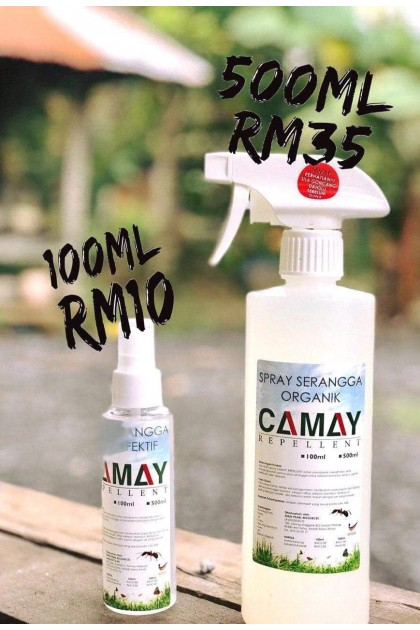 CAMAY SPRAY SERANGGA ORGANIK 500ML  ( 500G )-DT773