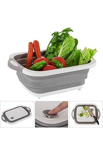 Multipurpose Foldable Cutting Board 3 in 1-DT789