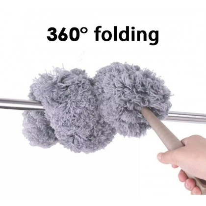 Extendable Curved Duster with Extendable Rod (60cm-178cm)- DT829
