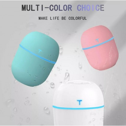 USB Mini Humidifier Car Humidifier 200ML Diffuser Purifier Ultrasonic Essential Oil Aroma Aromatherapy With USB Port- DT835