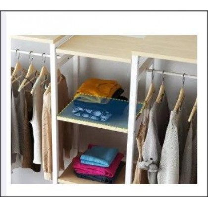 Large Capacity Clothes Rack Simple Wardrobe Creative Multipurpose Wardrobe -DT871