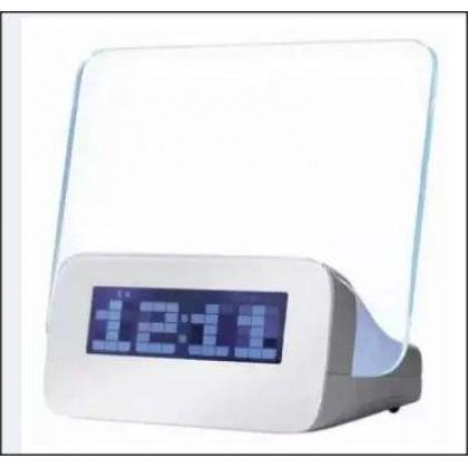 Highstar Memo Alarm Clock With Florescent Light (Free Marker Pen)-DT896