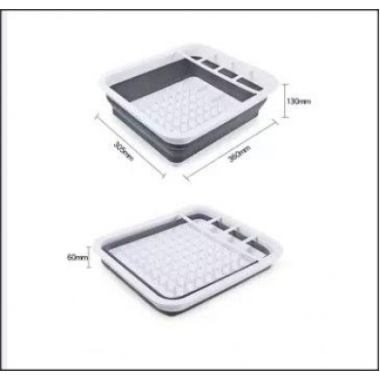 Foldable Kitchen Dish Rack Cutlery Storage Box-DT898