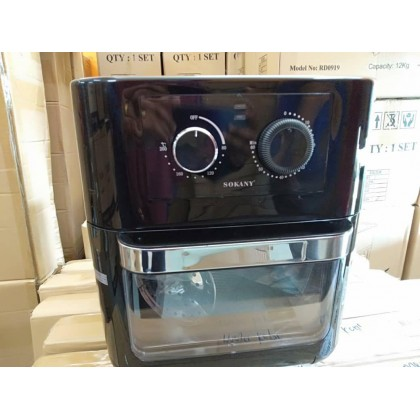 2 in 1 Sokany Air Fryer + Oven 10L (berat 9kg) -DT1103