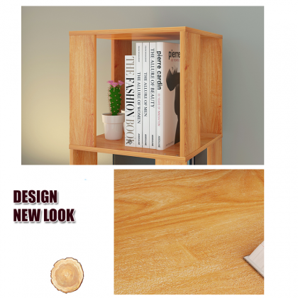 D4144B Rotatable Corner Book Shelf- DT964