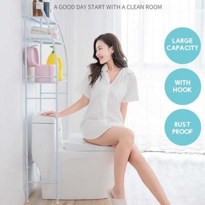 3 TIERS BATHROOM AND TOILET ORGANIZER SHELVES (3kg)