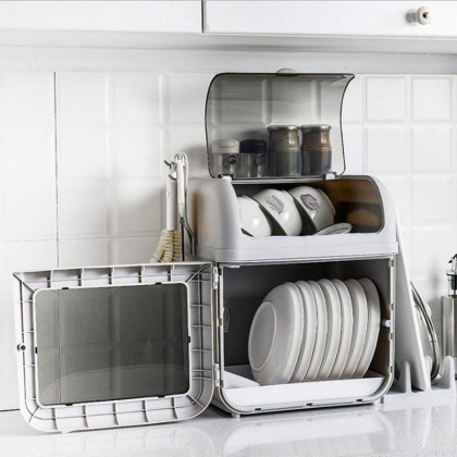 DISH STORAGE DRAWER COVER HOLDER - DT1151