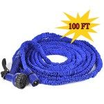 Magic Hose 100ft Hose+Spray Gun Blue and Green Color
