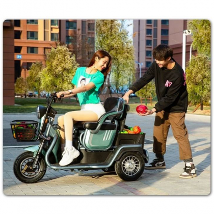 ELECTRIC 3 WHEELED SCOOTER SEAT BOLEH ADJUST - DT1165