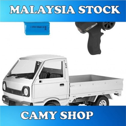 RC Truck Pick Up WPL D12 1/10 2WD Suzuki Carry Truck Complete Set D-12 K-Truck 2.4Ghz Remote Controller Free Battery