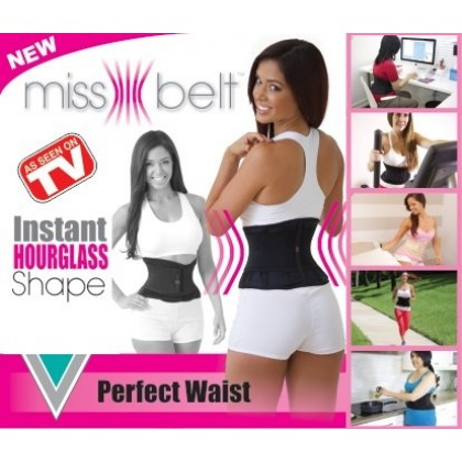 Miss Belt Waist Trainer Black Color DT110