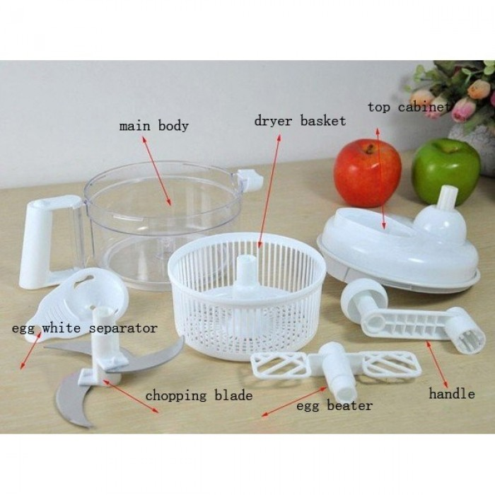 Multifunctional In Wall Kitchen Wash Vegetables Mixing: SWIFT CHOPPER
