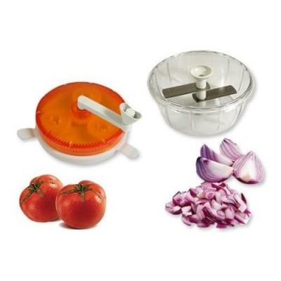 Twisting Vegetable Chopper For Your Kitchen To Chopping And Slicing Vegetables