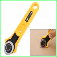 28mm Sewing Tool Roller Cutter Circular Rotary Blade Yellow Color