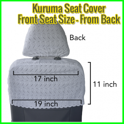 Kuruma Seat Cover Car Vehichle DT312