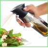 2 in 1 Olive Oil Spray Bottle Fine Mist Vinegar Sprayer Dispenser