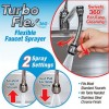 Turbo Flex 360 Sink Faucet Sprayer Jet Stream or Spray 6 inch