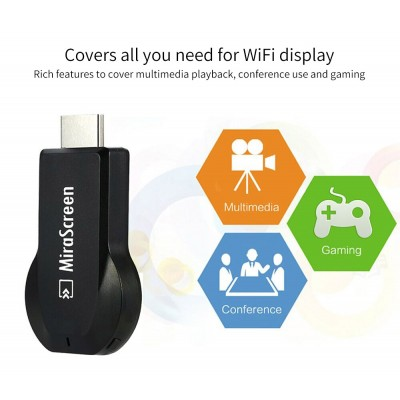 MiraScreen Dongle For Smartphone Wireless WiFi Mirroring Screen Device  DT330