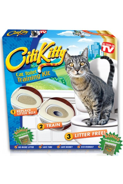 CitiKitty Cat Toilet Training Kit Pet DT391