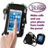 Touch Purse Universal Smartphone Case & Wallet Black Color
