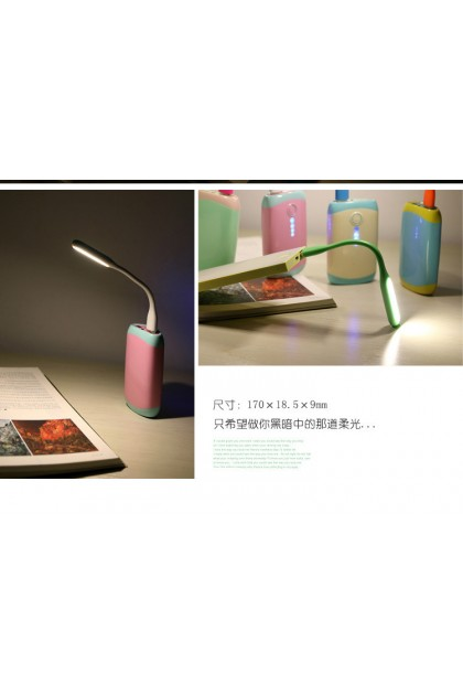 Portable Creative Flexible USB LED Light Mini Lamp