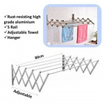 Aluminium Retractable Drying Rack Cloth Hanger - DT458