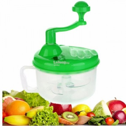 Manual Multifunctional large capacity vegetable cutter and mixer (500gm) - DT444