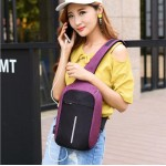 USB Anti-theft Sling Crossbody Bag - DT400