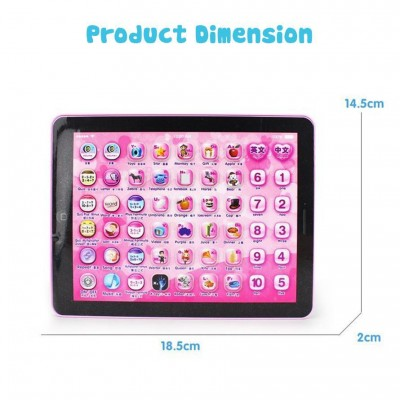 MINI TABLET PAD EDUCATIONAL LEARNING TOY FOR KIDS - DT423