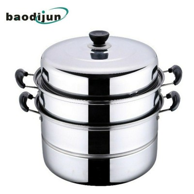 3 Layer Multi-function Stainless Steel Steamer Pot (2kg) - DT428