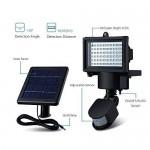 60 LED Solar Security Light With PIR N00982 - DT284