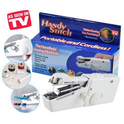 Portable Cordless Electric Sewing Machine Handheld Handy Stitch - DT292