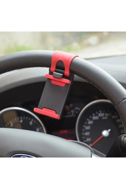 Car Stering Mount Phone Smartphone Holder GPS Iphone Handphone - DT335