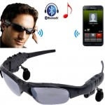 HD Sound Bluetooth Polaroid Sunglass w Headphone / Headset for MP3 Call - DT336
