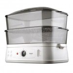 Trio Food Steamer TFS 18 White & Grey   (warranty 1 year)  - DT350