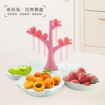 COLOURFUL FRUIT TRAY - DT376
