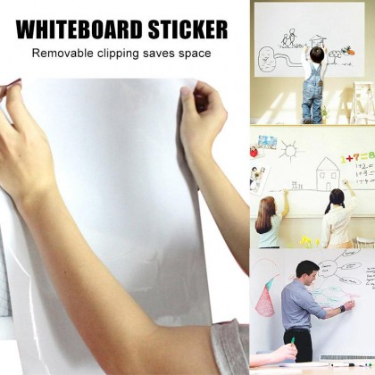 BLACK/WHITEBOARD STICKER  - DT225