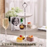 3-TIER PORCELAIN DESSERT RACK - DT265