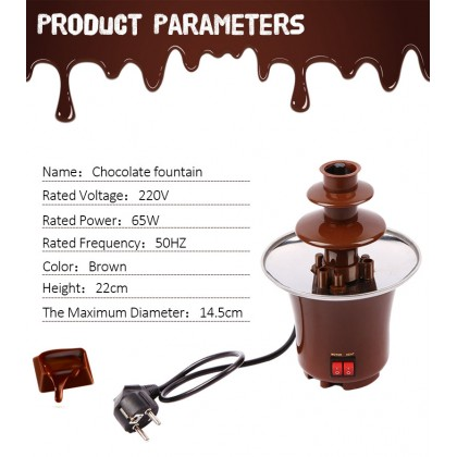 3-Tier Chocolate Fountain small - DT074