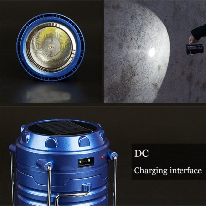 Solar Rechargeable Camping Lantern - DT078
