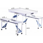 PORTABLE FOLDING TABLE (6kg) - DT122