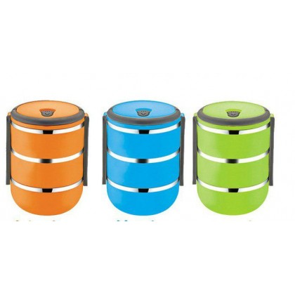 Stainless Steel Lunch Box 3 layer - DT148