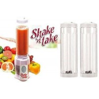 Shake n Take Smoothie Blender with 2 Bottles - DT049